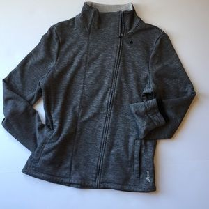 ASICS zippered sweatshirt w/ pockets size Medium